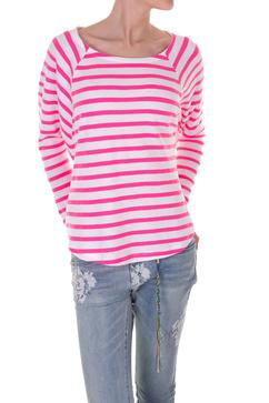 Härligt rosa randig tröja sailorstripe