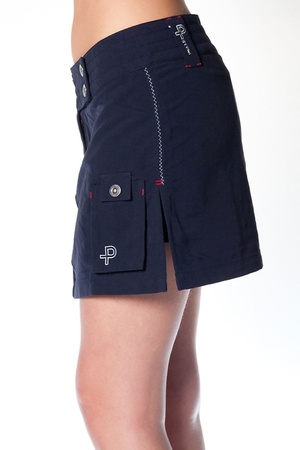 Kjolen från Pelle P (som kan bli shorts) visas av Clubhouse Fashion