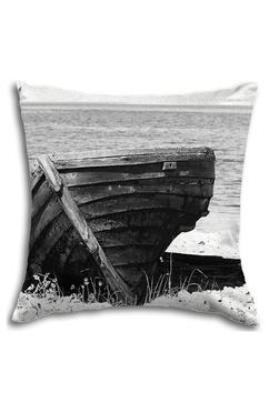 Kuddfordral från TYE med motiv av en roddbåt/rowboat
