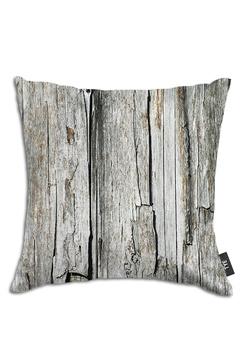 Kuddfodral från Tye med trämotiv/wood