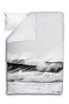 Tye påslakan set med stormigt motiv från havet